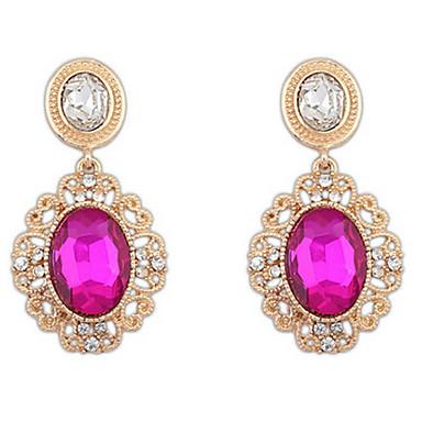 Dámské Peckové náušnice Visací náušnice Náušnice - Kruhy Syntetický diamant Přizpůsobeno Křížky a růžence Luxus Geometrik Jedinečný