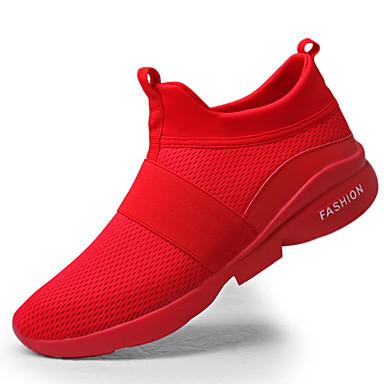 a4f762047b9 Hombre Goma Primavera   Otoño Confort Zapatillas de Atletismo Blanco   Gris    Rojo 5986067 2019 –  24.99