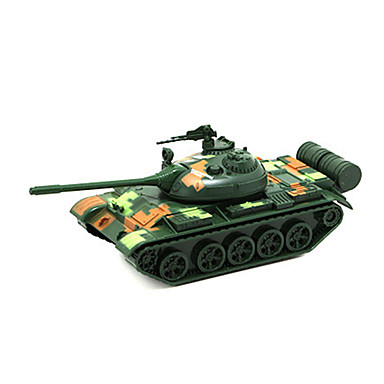 Tank Toy Truck Construction Vehicle Toy Car 1:32 Simulation Metal Alloy Unisex Kid's Toy Gift