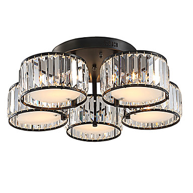 UMEI™ 5-luz Montagem do Fluxo Luz Ambiente - Cristal, 110-120V / 220-240V Lâmpada Não Incluída / 15-20㎡ / E26 / E27