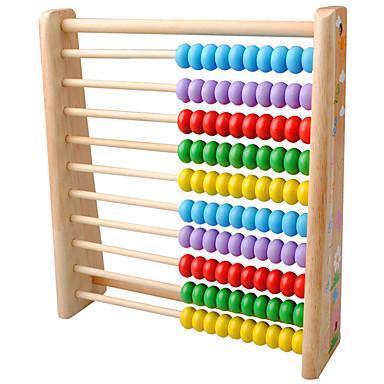 Ábaco Brinquedos Matemáticos Brinquedo Educativo Quadrada Amiga-do-Ambiente Clássico Brinquedos Dom