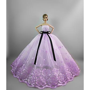 Juhla/ilta Mekot varten Barbie-nukke varten Tytön Doll Toy