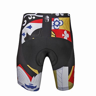 ILPALADINO Homens Bermudas Acolchoadas Para Ciclismo Moto Shorts / Calças Tapete 3D, Secagem Rápida, Design Anatômico Padrão, Moderno Lycra Ciclismo de Estrada Assenta Relaxadamente Roupa de Ciclismo