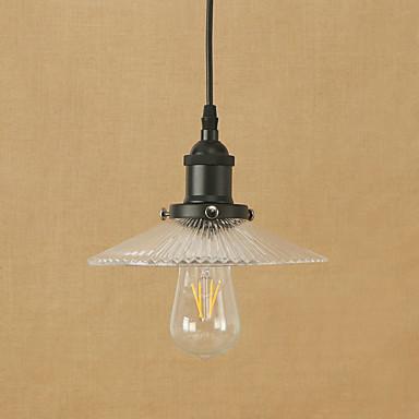 أضواء معلقة ضوء محيط طلاء ملون معدن زجاج استايل مصغر, المصممين 110-120V / 220-240V يشمل لمبات / E26 / E27