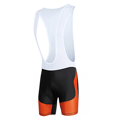 ILPALADINO Men's Cycling Bib Shorts Bike Bib Shorts / Bottoms Windproof, Breathable, 3D Pad Fashion Lycra Road Cycling Relaxed Fit Bike Wear / Quick Dry / Anatomic Design / Stretchy / Quick Dry
