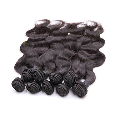 Human Hair Remy Weaves Body Wave Brazilian Hair 1000 g More Than One Year