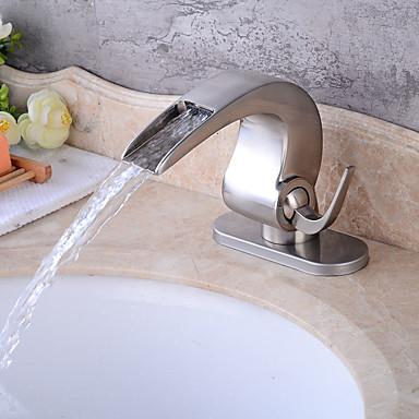 Clássica Arte Deco/Retro Tradicional Conjunto Central Válvula Cerâmica Monocomando e Uma Abertura Torneira pia do banheiro