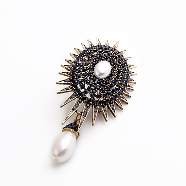 Women's Brooches - Personalized, Fashion, Euramerican Brooch Black For Wedding / Party / Special Occasion