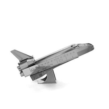 3D puzzle Hračky Letadlo Nerezová ocel Unisex Pieces