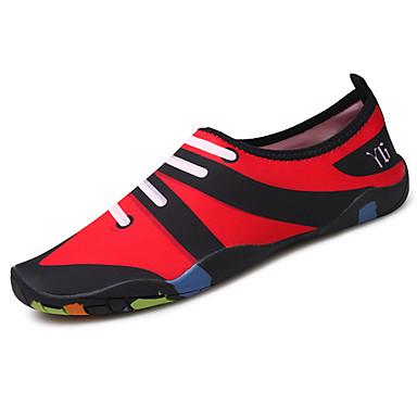 Miehet kengät Kangas Kesä Comfort Urheilukengät Vesikengät Käyttötarkoitus Purppura Laivaston sininen Musta/punainen
