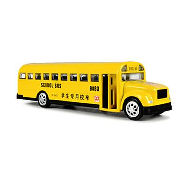Carros de Brinquedo Brinquedos Ônibus Ônibus escolar Brinquedos Ônibus Liga de Metal Peças Unisexo Dom