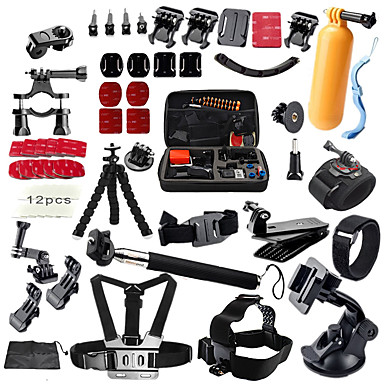 ราคาถูก กล้องถ่ายภาพกีฬาและอุปกรณ์เสริมสำหรับ Gopro-อุปกรณ์เสริม คุณภาพสูง สำหรับ กล้องแอคชั่น Gopro 6 ทั้งหมด Gopro 5 Gopro 4 Silver Gopro 3+ DV กีฬา SJ7000 SJCAM SJ5000 SJ4000 SJCAM 1