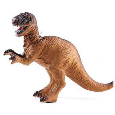 Dragões & Dinossauros Figuras de dinossauro Velociraptor Dinossauro jurássico Triceratops Tiranossauro Rex Plástico Para Meninos Crianças