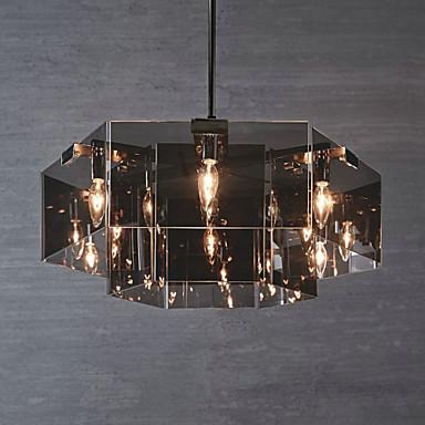QINGMING® Lustres Luz Descendente - Designers, Rústico / Campestre, 110-120V 220-240V Lâmpada Não Incluída