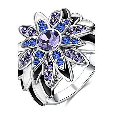 Damen Statementringe Ring Kubikzirkonia Synthetischer Diamant Personalisiert Luxus Klassisch Grundlegend Modisch Euramerican Simple Style
