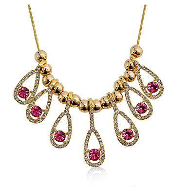 Dámské Prohlášení Náhrdelníky Šperky Šperky Štras Slitina Jedinečný design Módní Euramerican Šperky Pro Párty Ostatní Večerní oslava
