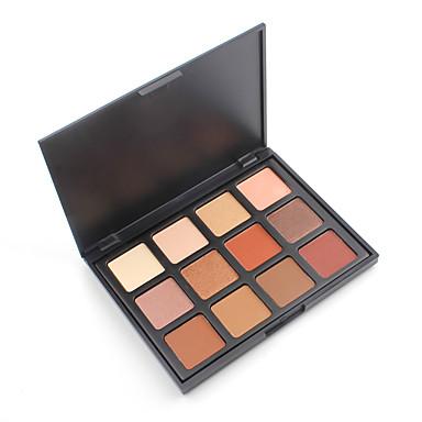 # / 12 cores Sombra para Olhos Diário / Pesta Portátil Maquiagem para o Dia A Dia / Maquiagem de Festa / Maquiagem de Fada Maquiagem Cosmético / Mate / Brilho