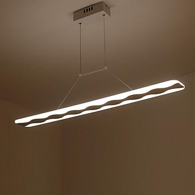 Modern/Zeitgenössisch LED Pendelleuchten Raumbeleuchtung Für Wohnzimmer Schlafzimmer Küche Esszimmer Wärm Weiß Weiß 110-120V 220-240V 6480