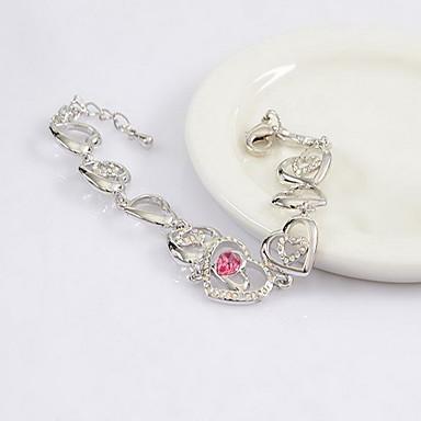 Dámské Řetězové & Ploché Náramky Šperky Vintage příroda Módní Ručně Vyrobeno Křišťál Slitina Šperky Pro Svatební Párty Narozeniny Maturita