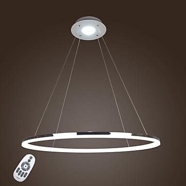 Modern / Zeitgenössisch Pendelleuchten Moonlight - Ministil LED, 110-120V 220-240V, Wärm Weiß Kühl Weiß Dimmbar mit Fernbedienung,