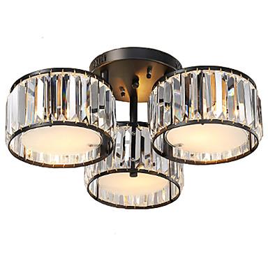 UMEI™ Unterputz Raumbeleuchtung - Kristall, Retro Landhaus Stil Traditionell-Klassisch, 110-120V 220-240V Glühbirne nicht inklusive