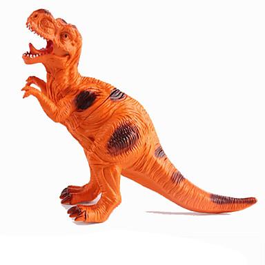 Dragões & Dinossauros Figuras de dinossauro Dinossauro jurássico Triceratops Tiranossauro Rex Plástico Para Meninos Crianças Dom