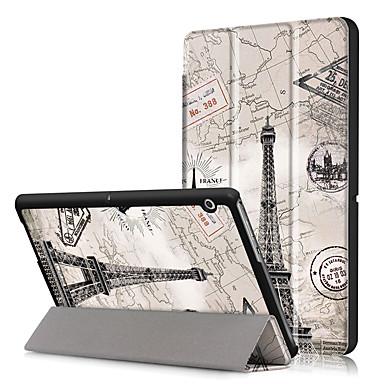 Capinha Para Huawei Capa Proteção Completa / Tablet Cases Rígida PU Leather para