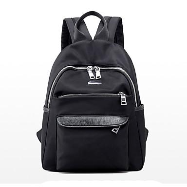 Dámské Tašky PU batoh pro Nakupování Ležérní Sport Formální Outdoor a turistika Kancelář a kariéra Celý rok Černá