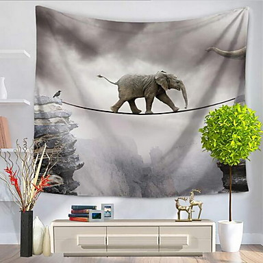 Abstrakt / Tier Wand-Dekor 100% Polyester Abstrakt / Mit Mustern Wandkunst, Wandteppiche Dekoration