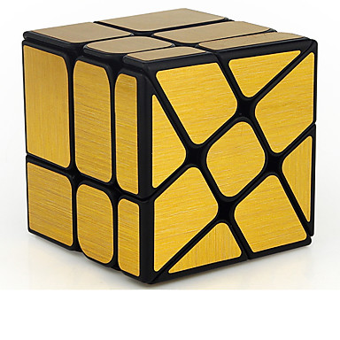 Rubik's Cube MoYu Mirror Cube 3*3*3 Smooth Speed Cube Magic Cube Educational Toy Stress Reliever Puzzle Cube Smooth Sticker Gift Unisex
