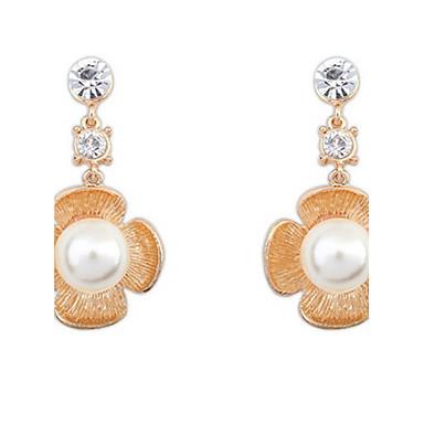 Dámské Peckové náušnice Visací náušnice Náušnice - Kruhy Imitace perly Základní design Jedinečný design Logo Perla přátelství Gothic