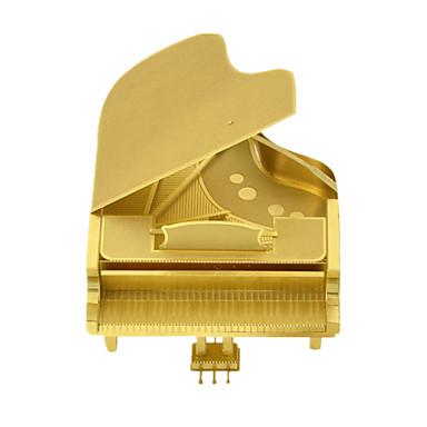 voordelige 3D-puzzels-3D-puzzels Piano Plezier Roestvast staal Klassiek Kinderen Unisex Speeltjes Geschenk