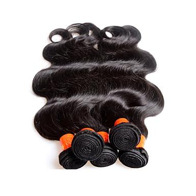 5bundles 500g lot sale 8a malaysian human hair body wave style natural black color virgin malaysian hair extensions weaves no shedding no tangles