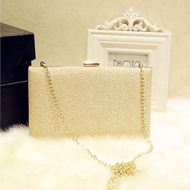 Women's Bags PU Evening Bag for Event / Party / Party & Evening / Club Gold / Silver