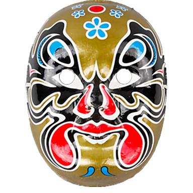 Máscaras de Dia das Bruxas Máscara Pintada a Mão Brinquedos Outros Other Terror Peças Unisexo Dom