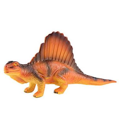 Dragões & Dinossauros Figuras de dinossauro Dinossauro jurássico Spinossauro Triceratops Tiranossauro Rex Plástico Para Meninos Crianças