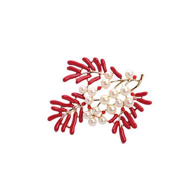 Dámské Brože Módní Přizpůsobeno Euramerican Slitina Šperky Pro Svatební Párty Zvláštní příležitosti