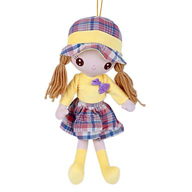 Dziewczyna Lalki Pluszowa lalka 22 in Miękka Bezpieczne dla dziecka Nietoksyczne Dzieciak Dla dziewczynek Zabawki Prezent / Słodkie