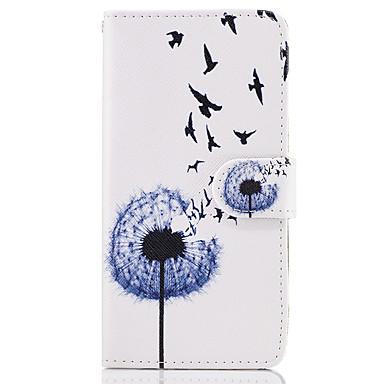 Capinha Para Samsung Galaxy A5(2017) A3(2017) Porta-Cartão Carteira Com Suporte Flip Capa Proteção Completa dandelion Rígida PU Leather