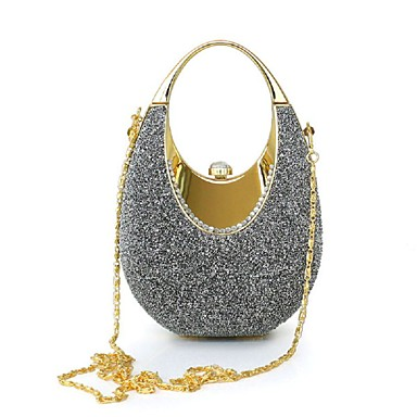 Women's Bags Polyester / Suede / Satin Clutch for Event / Party Gray