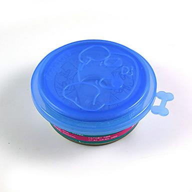 L Katze Hund Schalen & Wasser Flaschen Haustiere Schüsseln & Füttern Tragbar Zufällige Farben