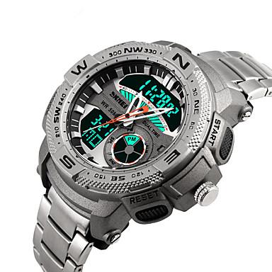 Relógio inteligente YYSKMEI1121 para Suspensão Longa / Impermeável / Multifunções / Esportivo Cronómetro / Relogio Despertador / Cronógrafo / Calendário / Dois Fusos Horários