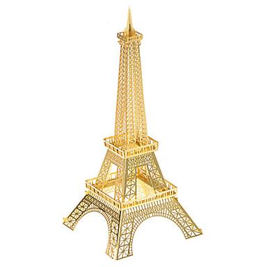 voordelige 3D-puzzels-3D-puzzels Metalen puzzels Modelbouwsets Eiffeltoren Plezier Metaal Klassiek Kinderen Unisex Speeltjes Geschenk