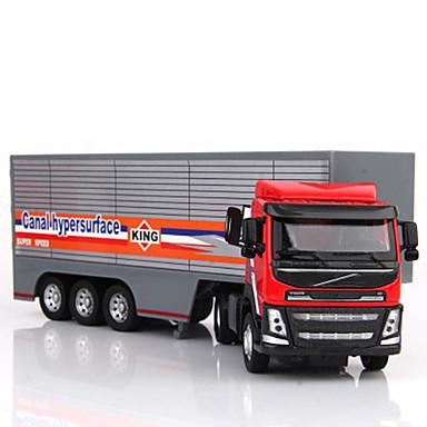 Caminhão de carga Caminhões & Veículos de Construção Civil Carros de Brinquedo Modelo de Automóvel 01:50 Simulação Unisexo Crianças