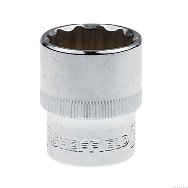Stahl Schild 12.5mm Serie englisch 12 Winkel Hülse 15/16 / 1