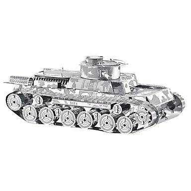 3D puzzle Kovové puzzle Hračky Tank Kov Unisex Pieces