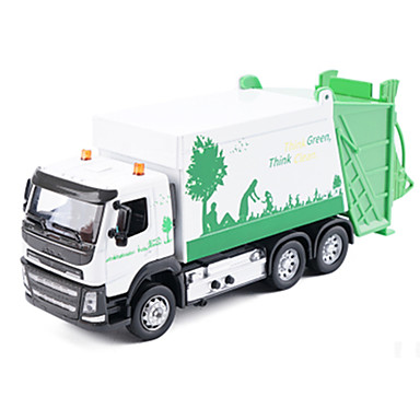 Caminhão De Saneamento Caminhões & Veículos de Construção Civil Carros de Brinquedo Modelo de Automóvel Música e luz Metal Crianças