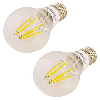 7W 560 lm LED kulaté žárovky 6 lED diody COB Teplá bílá AC 85-265V