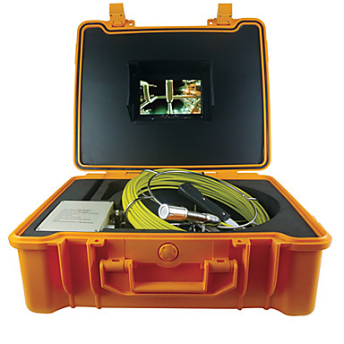 50M Endoscopy Snake Tube Camera HD Night Vision Pipe Wall Inspection Video Camera Function