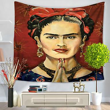 Ihmiset Wall Decor 100% polyesteri Retro Wall Art, Seinävaatteet Koriste